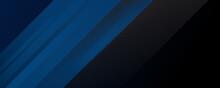 Rich Modern 3D Navy Blue Black...