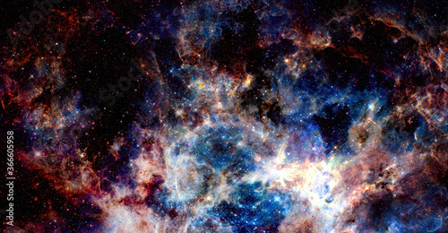 Galaxy by NASA. Elements of this image furnished by NASA Wallpaper Mural