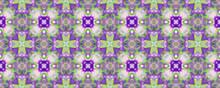 Portuguese Decorative Tiles. Graphic Hawaii Ikat