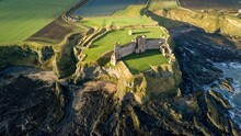 Aerial Image Of Tantallon Cast...