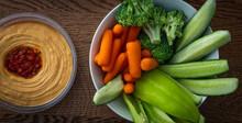 Bowl Of Raw Fresh Vegetables F...