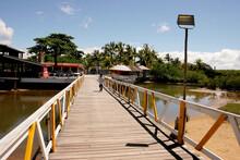 Porto Seguro, Bahia / Brazil -...