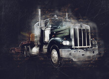 American Truck Illustration Co...