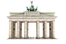 3d Brandenburger Tor, Freigestellt