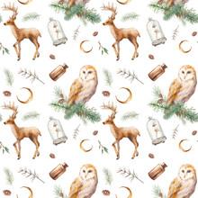 Fantasy Christmas Seamless Pat...