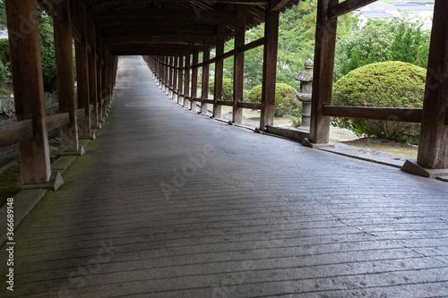 Cuadros en Lienzo 吉備津神社 全長360mの廻廊 -桃太郎伝説ゆかりの神社-