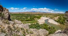 Rio Grande At Big Bend