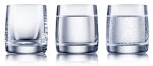 Set Of Glasses - Empty Glass, ...
