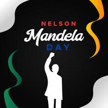 International Nelson Mandela Day Vector Design Illustration For Celebrate Moment