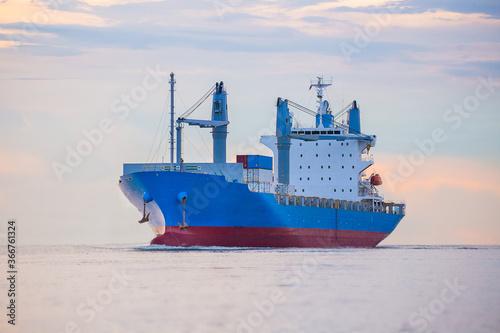 Fotografie, Obraz logistics and transportation concept