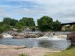 The Sioux Falls waterfall in the park