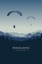 Paragliding Adventure On Blue ...