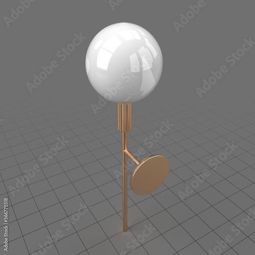 Obraz Copper lamp - fototapety do salonu