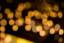 Candlelight Bokeh Pattern Text...