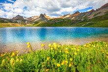 Ice Lake In The Colorado Rocki...