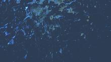 Dark Blue Spattered Background