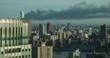 Dark Smoke Blowing Over Manhattan NYC