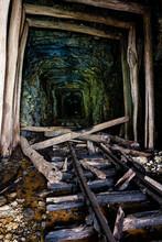 Derelict, Collapsed Narrow Gau...