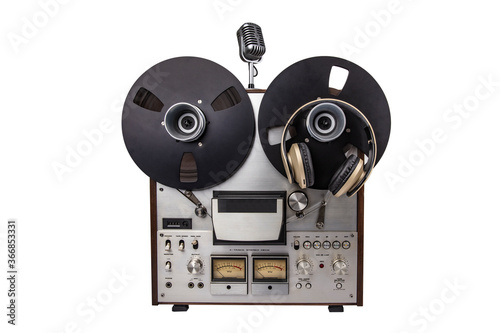 Photo Audio Tape Recorder with Microphone