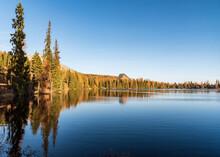 Strbske Pleso Lake In Autumn V...