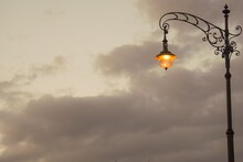 Closeup Of A Street Lamp Again...