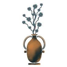 Raster Vase Of Flowers.Textura...