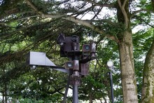 Total Surveillance With Cameras In Nature