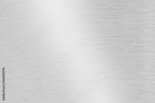 Grey metal striped abstract background Wallpaper Mural