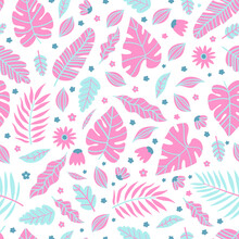 Summer Exotic Floral Tropical ...