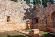 Monestary Ruins In Lokrum Croatia
