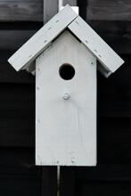 White Bird Booth (bird House) - A Garden Decoration