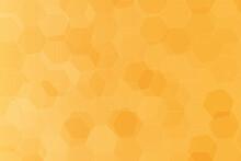 Seamless Layered Orange Hexago...