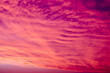 canvas print picture - sunset in the sky