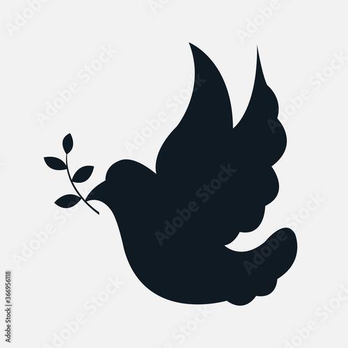 Symbol ikona kościół katolicki ryba IHS gołębica
