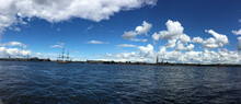 Panorama Of The Neva River Wit...