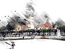 Square And Promenade Architctu...