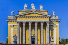 Cathedral Basilica Of St. John The Apostle Or Eger Cathedral - Third Largest Catholic Church In Hungary. Eger Cathedral Built In 1831 - 1837 In Classicist Designs. Eger, Hungary
