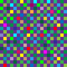 Checker Chess Square Multicolo...