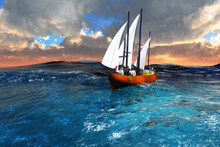 Sailing Before The Clouds