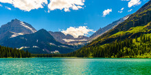 Green Waters, Blue Sky, And Wh...
