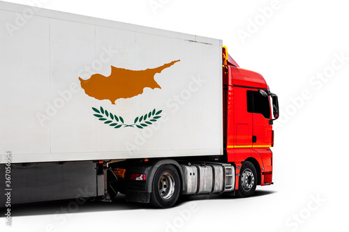 Obraz Concept of export-import,transportation, national delivery of goods - fototapety do salonu