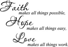 Faith Makes All Things Possibl...