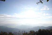 Beautiful Sunrise At Phu Rua National Park, Phu Rua National Park, Loei, Thailand