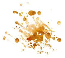 Stain, Paint Gold Splatter Spe...