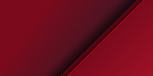Abstract Red Arrow Light Shado...
