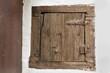 Kleine Tür aus Holz