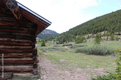 Fototapety, obrazy: Independence ghost town near Aspen Colorado