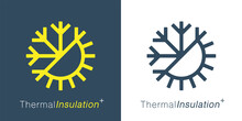 Thermal Insulation Icon. Tempe...
