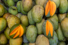 Seasonal Delicious Sweet Mango...