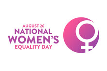 Women's Equality Day. August 2...